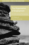 The organization of employment an international perspective