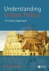 Understanding urban policy a critical approach