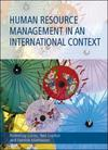 Human resource management in an international context
