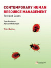 Contemporary human resource management text and cases