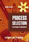 Process selection; from design to manufacture