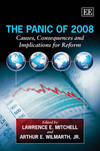 The panic of 2008 causes, consequences and implications for reform