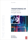 Transforming HR creating value through people