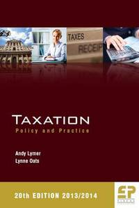 Taxation policy and practice 2013/2014