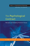 The psychological contract managing and developing professional groups