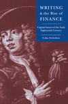 Writing and the rise of finance capital satires of the early eighteenth century