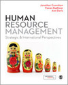 Human resource management strategic and international perspectives