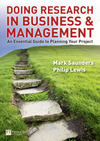 Doing research in business and management an essential guide to planning your project