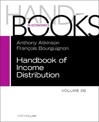 Handbook of income distribution: Volume 2B/ edited by Anthony B. Atkinson and François Bourguignon