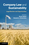 Company law and sustainability legal barriers and opportunities