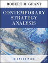 Contemporary strategy analysis/ Robert M. Grant