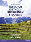 Research methods for business students/ Mark Saunders, Philip Lewis, Adrian Thornhill