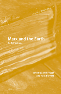 Marx and the Earth an anti-critique