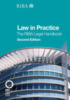 Law in practice the RIBA legal handbook