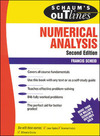 Schaum's outline of theory and problems of numerical analysis/ by Francis Scheid