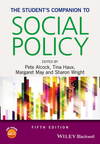 The student's companion to social policy/ edited by Pete Alcock, Tina Haux, Margaret May, Sharon Wright