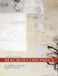 Macroeconomics/ N. Gregory Mankiw, Mark P. Taylor