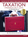 Taxation: Finance Act 2016/ Alan Melville