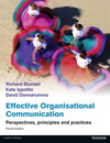 Effective organisational communication: perspectives, principles and practices