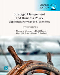 Strategic management and business policy: globalization, innovation, and sustainability