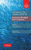 Whillans's tax tables 2018-19