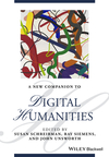 A new companion to digital humanities