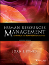 Human resources management for public and nonprofit organizations [Fourth edition]: a strategic approach