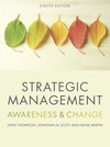 Strategic management: awareness & change