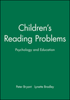 Children's reading problems psychology and education