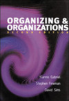 Organizing and organizations an introduction