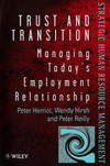 Trust and transition managing today's employment relationship