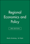Regional economics and policy/ Harvey Armstrong and Jim Taylor