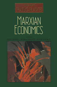 The New Palgrave Marxian economics