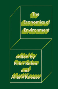 The economics of environment papers from four nations
