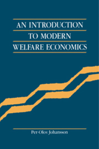 An introduction to modern welfare economics Per-Olov Johansson