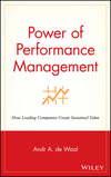 Power of performance management how leading companies create sustained value