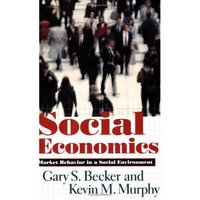 Social economics market behaviour in a social environment