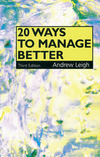 20 ways to manage better
