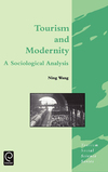 Tourism and modernity a sociological analysis
