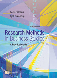 Research methods in business studies a practical guide by ghauri research methods in business studies a practical guide fandeluxe Image collections